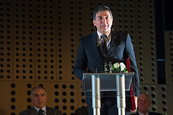Gabriel Gros at 52th Annual Awards of Stanko Bloudek for sports achievements in Slovenia in year 2016 on February 14, 2017 in Brdo Congress Center, Brdo, Ljubljana, Slovenia.  Photo by Martin Metelko / Sportida