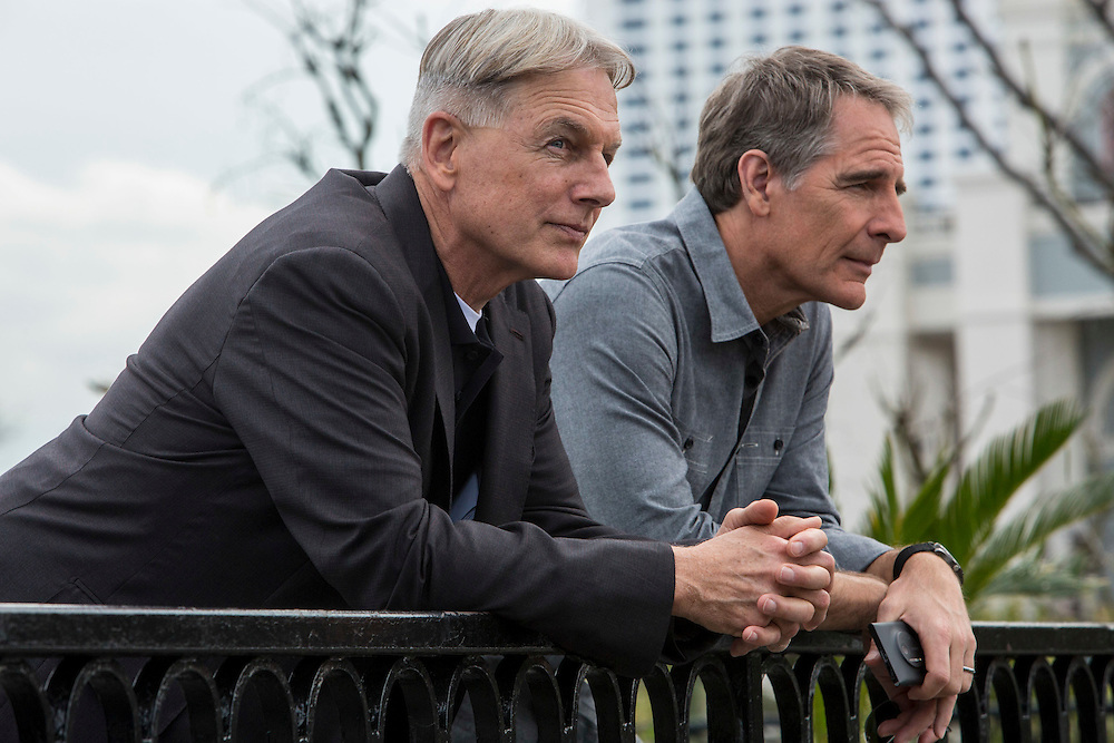"""Mark Harmon and Scott Bakula in the pilot of CBS's """"NCIS: New Orleans"""""""
