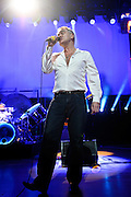 """BETHESDA, MD, DC - January 16th, 2013 - British music legend Morrissey performs at the Strathmore Music Hall. His set included solo hits like """"Everyday Is Sunday as well as material from The Smiths, such as """"Still Ill.""""( Photo by Kyle Gustafson/For The Washington Post)"""