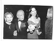 Casey Johnson, Marty Richards and  Sale Johnson . Red Ball. Plaza. New York. 13 February 1995. © Copyright Photograph by Dafydd Jones 66 Stockwell Park Rd. London SW9 0DA Tel 020 7733 0108 www.dafjones.com