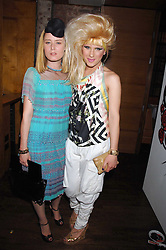 Left to right, ROISIN MURPHY and JODIE HARSH at a party hosted by Belvedere Vodka and Jade Jagger to launch The Belvedere Jagger Dagger cocktail held at Automat, Berkeley Street, London on 8th May 2008.<br /> <br /> NON EXCLUSIVE - WORLD RIGHTS ******(EMBARGOED FOR PUBLICATION IN UK MAGAZINES UNTIL 2 MONTHS AFTER CREATE DATE AND TIME)****** www.donfeatures.com  +44 (0) 7092 235465