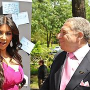 Kim Kardashian and Ted Greenberg