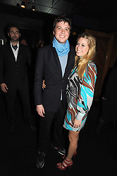 ARCHIE SOAMES and VIOLET HENDERSON at the Tatler Magazine Little Black Book party at Tramp, 40 Jermyn Street, London SW1 on 5th November 2008.