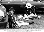 Tony and Robert Baker at Henley.1986 86545<br />© Copyright Photograph by Dafydd Jones<br />66 Stockwell Park Rd. London SW9 0DA<br />Tel 0171 733 0108