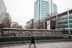 2019-01-10 Stansted 15 graffiti