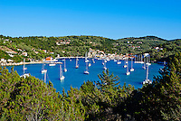 Grece, iles Ioniennes, Paxi, ville de Lakka // Greece, Ionian island, Paxi, Lakka city
