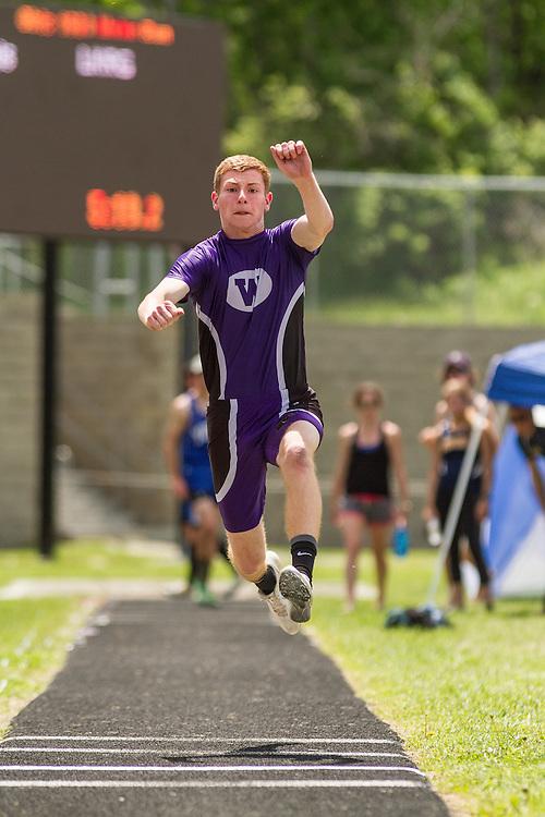 Maine State Track & Field Meet, Class B: boys triple jump, Jordhan Levine, Waterville