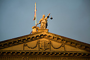 Scales of Justice on Guildhall, Bath