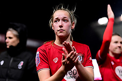 Flo Allen of Bristol City - Mandatory by-line: Ryan Hiscott/JMP - 17/02/2020 - FOOTBALL - Ashton Gate Stadium - Bristol, England - Bristol City Women v Everton Women - Women's FA Cup fifth round