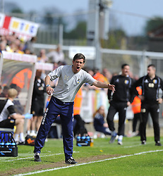 Bristol Rovers First Team Manager, Darrell Clarke - Photo mandatory by-line: Joe Meredith/JMP - Mobile: 07966 386802 03/05/2014 - SPORT - FOOTBALL - Bristol - Memorial Stadium - Bristol Rovers v Mansfield - Sky Bet League Two