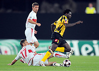 v.l. Matthieu Delpierre VfB , Winston Parks<br /> UEFA Champions League Play-Off Rueckspiel VfB Stuttgart - FC Timisoara<br /> <br /> Norway only