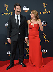 Sharon Horgan & Rob Delaney bei der Verleihung der 68. Primetime Emmy Awards in Los Angeles / 180916<br /> <br /> *** 68th Primetime Emmy Awards in Los Angeles, California on September 18th, 2016***