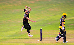 Paul van Meekeren of Somerset in action.  - Mandatory by-line: Alex Davidson/JMP - 22/07/2016 - CRICKET - Th SSE Swalec Stadium - Cardiff, United Kingdom - Glamorgan v Somerset - NatWest T20 Blast