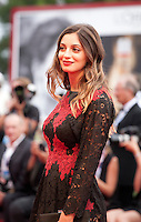 Rossella Fiamingo at the gala screening for the film Everest and opening ceremony at the 72nd Venice Film Festival, Wednesday September 2nd 2015, Venice Lido, Italy.