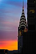 Sunset in Manhattan - New York City, U.S.A.