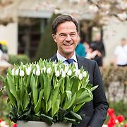NLD/Lisse/20190417 - Minister Rutte doopt tulp in de Keukenhof, Mark Rutte