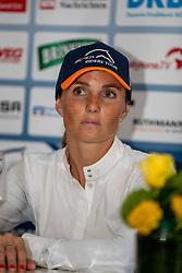 SCHOONBROODT-DE AZEVEDO Celine (BEL)<br /> Münster - Turnier der Sieger 2019<br /> Pressekonferenz<br /> MARKTKAUF - CUP<br /> BEMER-Riders Tour - Qualifier for the rating competition (comp no 11)  - Stechen<br /> CSI4* - Int. Jumping competition with jump-off (1.50 m) - Large Tour<br /> 03. August 2019<br /> © www.sportfotos-lafrentz.de/Stefan Lafrentz