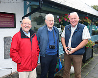 N Ireland news media photographers (from left) Raymond Humphries, Victor Patterson and John McVitty, September, 2019, Humphries_Patterson_McVitty_201909127269<br />