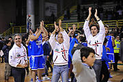 DESCRIZIONE : Casale Monferrato Lega A 2011-12 Novipiu Casale Monferrato Dinamo Sassari<br /> GIOCATORE : Esultanza<br /> SQUADRA : Dinamo Sassari <br /> EVENTO : Campionato Lega A 2011-2012<br /> GARA : Novipiu Casale Monferrato Dinamo Sassari<br /> DATA : 22/01/2012<br /> CATEGORIA : Esultanza<br /> SPORT : Pallacanestro<br /> AUTORE : Agenzia Ciamillo-Castoria/S.Ceretti<br /> Galleria : Lega Basket A 2011-2012<br /> Fotonotizia : Casale Monferrato Lega A 2011-12 Novipiu Casale Monferrato Dinamo Sassari<br /> Predefinita :