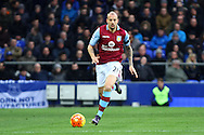 Alan Hutton of Aston Villa in action. Barclays Premier League match, Everton v Aston Villa at Goodison Park in Liverpool on Saturday 21st November 2015.<br /> pic by Chris Stading, Andrew Orchard sports photography.