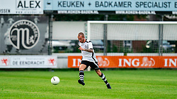 Youri Kuijer of VV Maarssen in action. Friendly match against EDO and Maarssen lost the home match with 3-0 on 20 August 2020 in Maarssen.