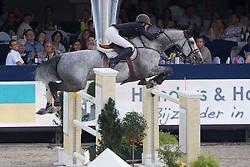 Carton Grootjans Ann (BEL) - Funky Music <br /> Belgian Championship<br /> FEI World Breeding Jumping Championships for Young Horses - Lanaken 2014<br /> © Dirk Caremans