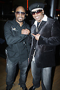 l to r: Teddy Riley and the Kangol Kid at The Urban Network Magazine and Alistair Entertainment V.I.P Reception honoring Stephen Hill & Charles Warfield & theCelebration of Urban Network's 21st Anniversary held at the Canal Room on May 13, 2009 in New York City .