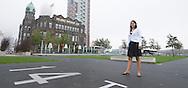 Nederland, Rotterdam, 20100921..Bergamin & Gielink pensioenrechtadvies B.V..Marthe van den Broek.Kop van Zuid, Hotel New York