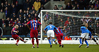Photo. Chris Ratcliffe<br /> Crystal Palace v Birmingham City. Barclays Premiership. 26/02/2005<br /> Andy Johnson slots the re-taken penalty past Maik Taylor in the Birmingham goal to make it 1-0.