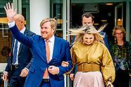 Koningspaar reikt Groeicertificaten uit