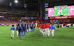 January 27, 2019 - Glendale, AZ, USA - Glendale, AZ - Sunday January 27, 2019: The men's national teams of the United States (USA) and Panama (PAN) play in an international friendly game at State Farm Stadium. (Credit Image: © John Dorton/ISIPhotos via ZUMA Wire)