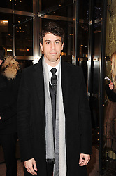 Actor TOBY KEBBELL at a Cocktail party to celebrate the opening of the new Miu Miu boutique, 150 New Bond Street, London hosted by Miuccia Prada and Patrizio Bertelli on 3rd December 2010.