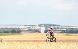 04.07.2017, Pöggstall, AUT, Ö-Tour, Österreich Radrundfahrt 2017, 2. Etappe von Wien nach Pöggstall (199,6km), im Bild Helmut Trettwer (GER, WSA Greenlife) // during the 2nd stage from Vienna to Pöggstall (199,6km) of 2017 Tour of Austria. Pöggstall, Austria on 2017/07/04. EXPA Pictures © 2017, PhotoCredit: EXPA/ JFK
