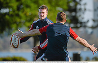 3 June 2013; Stuart Hogg, British & Irish Lions, during squad training ahead of their game against Western Force on Wednesday. British & Irish Lions Tour 2013, Squad Training, Langley Park, Perth, Australia. Picture credit: Stephen McCarthy / SPORTSFILE