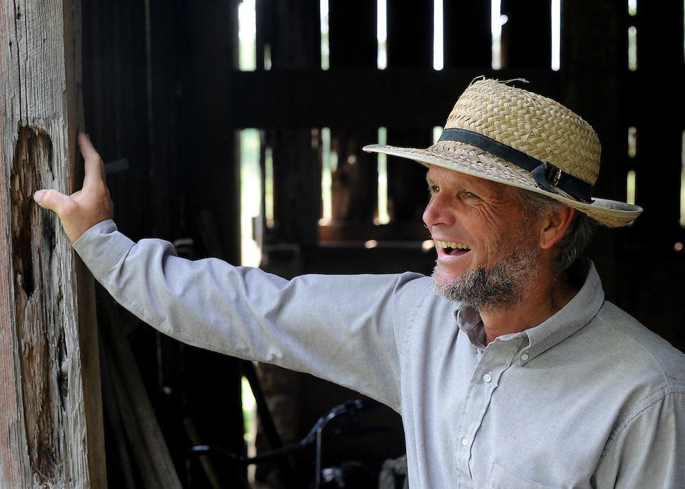 Amish farmer from Peace Valley, Missouri.