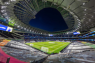 General view of the Tottenham Hotspur Stadium during the EFL Cup Fourth Round match between Tottenham Hotspur and Chelsea at Tottenham Hotspur Stadium, London, United Kingdom on 29 September 2020.