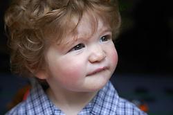 Portrait of baby boy,
