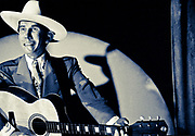 Hank Williams wax figure in the Country Music Wax Museum (1988)