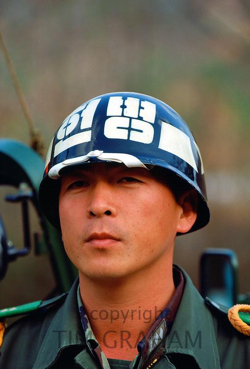 Military man in South Korea