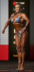 Sept.16, 2016 - Las Vegas, Nevada, U.S. -  GEORGINA LONA competes in the Figure Olympia contest during Joe Weider's Olympia Fitness and Performance Weekend.(Credit Image: © Brian Cahn via ZUMA Wire)