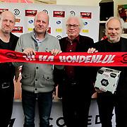 NLD/Amsterdam/20120313 - Perspresentatie Hi Ha Hondenlul, Frans van Deursen, Diederik van Vleuten, Henk Spaan, Nico Dijkshoorn