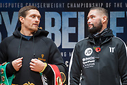 Usyk v Bellew Press Conference 081118