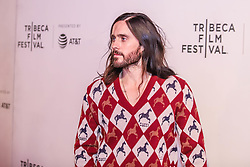 April 27, 2019 - New York, New York, United States - Jared Leto attends ''A Day In The Life Of America'' screening at the 2019 Tribeca Film Festival at BMCC Tribeca PAC on April 27, 2019 in New York City. (Credit Image: © William Volcov/ZUMA Wire)