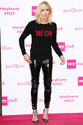 © Licensed to London News Pictures. 11/09/2014, UK. Fearne Cotton, Fearne Cotton SS15 Collection for very.co.uk - Catwalk Show, One Marylebone, London UK, 11 September 2014. Photo credit : Brett D. Cove/Piqtured/LNP