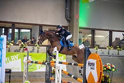 Bruyninckx Kobe, BEL, Cartouche Leco<br /> Nationaal Indoorkampioenschap  <br /> Oud-Heverlee 2020<br /> © Hippo Foto - Dirk Caremans