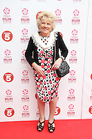 Nanny Pat,Tesco Mum Of The Year, The Savoy Hotel, London UK, 03 March 2013, (Photo by Richard Goldschmidt)