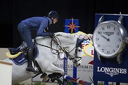 Deusser Daniel, (GER), Cornet D Amour <br /> Training session<br /> Longines FEI World Cup™ Jumping Finals <br /> Las Vegas 2015<br />  © Hippo Foto - Dirk Caremans<br /> 15/04/15