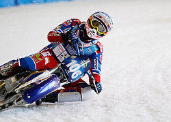 13.03.2016, Assen, BEL, FIM Eisspeedway Gladiators, Assen, im Bild Dmitry Koltakov (RUS) //  during the Astana Expo FIM Ice Speedway Gladiators World Championship in Assen, Belgium on 2016/03/13. EXPA Pictures © 2016, PhotoCredit: EXPA/ Eibner-Pressefoto/ Stiefel<br /> <br /> *****ATTENTION - OUT of GER*****