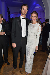 Model JULIE HENDERSON and MATTEO FERRERO at the Sugarplum Dinner in aid Sugarplum Children a charity supporting children with type 1 diabetes and raising funds for JDRF, the world's leading type 1 diabetes research charity held at One Marylebone, London on 18th November 2015.