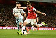 Arsenal v West Ham United 150414